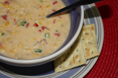 PW Corn and Cheese Chowder