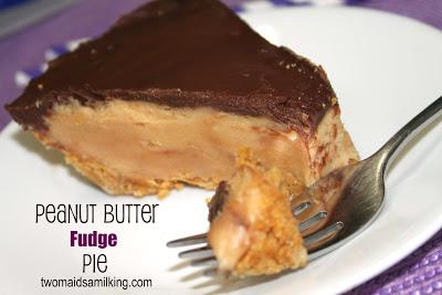 Peanut Butter Fudge Pie