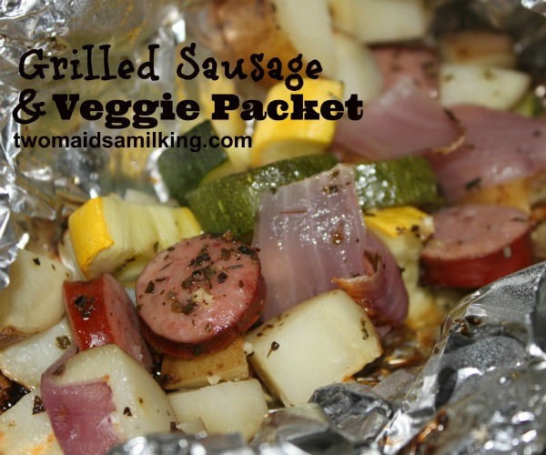 Foil Packets for Grill