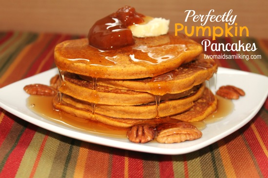 Perfectly Pumpkin Pancakes