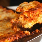 Easy Baked Ziti, simple to toss together and makes a great freezer meal