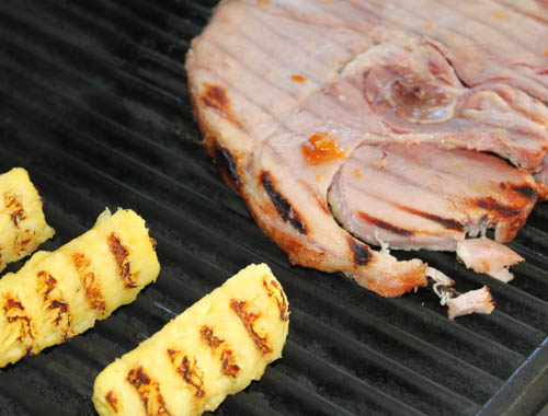 Are you looking for something a little different to throw on the grill? Look no further! This Grilled Pineapple and Ham Steak recipe will soon be a family favorite!