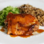 Are you looking for a great slow cooker chicken meal? This Honey Garlic Chicken recipe has great flavor and can be served with or with out gravy.