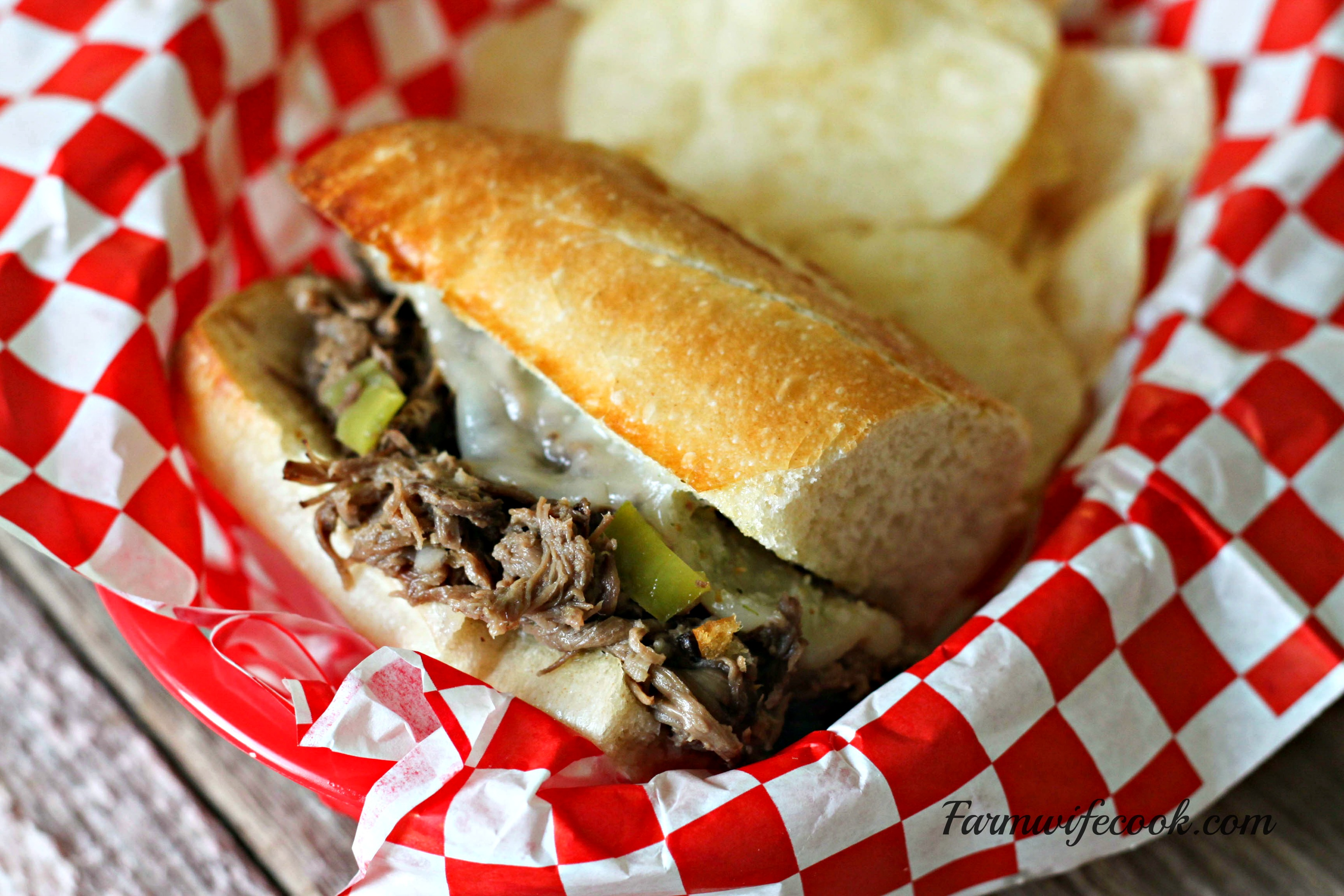 Meals In A Jar Italian Beef Sandwiches The Farmwife Cooks