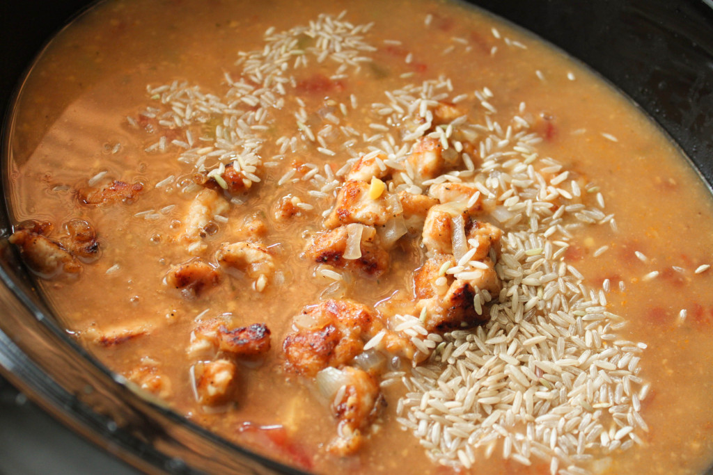 Are you looking for a great slow cooker soup recipe? This Fiesta Chicken Chowder has great flavor and is hearty enough to be served as a complete meal.