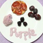 Purple, Eating the Rainbow – Eggplant Pizza
