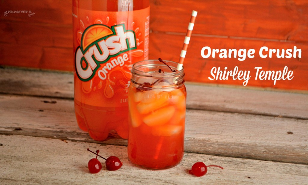Orange Crush Shirley Temple