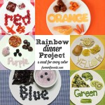 Rainbow Dinner Project – Eat, Drink, Play by Color