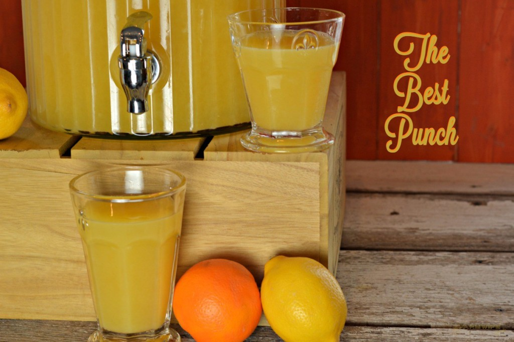 The Best Punch Recipe