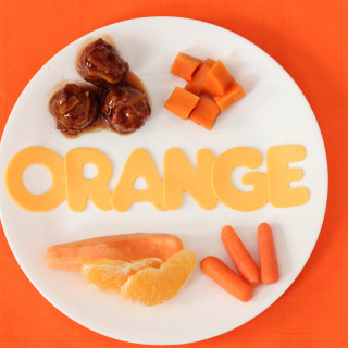 Eat, Drink, Play by color: Orange