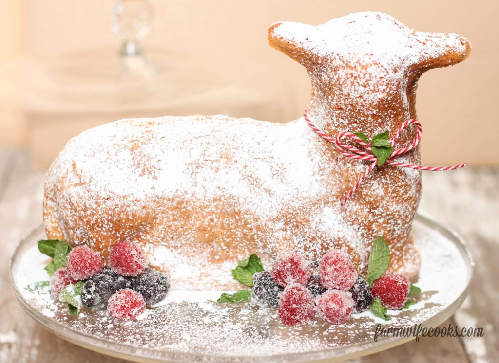 3 Ways To Decorate An Easter Lamb Cake The Farmwife Cooks