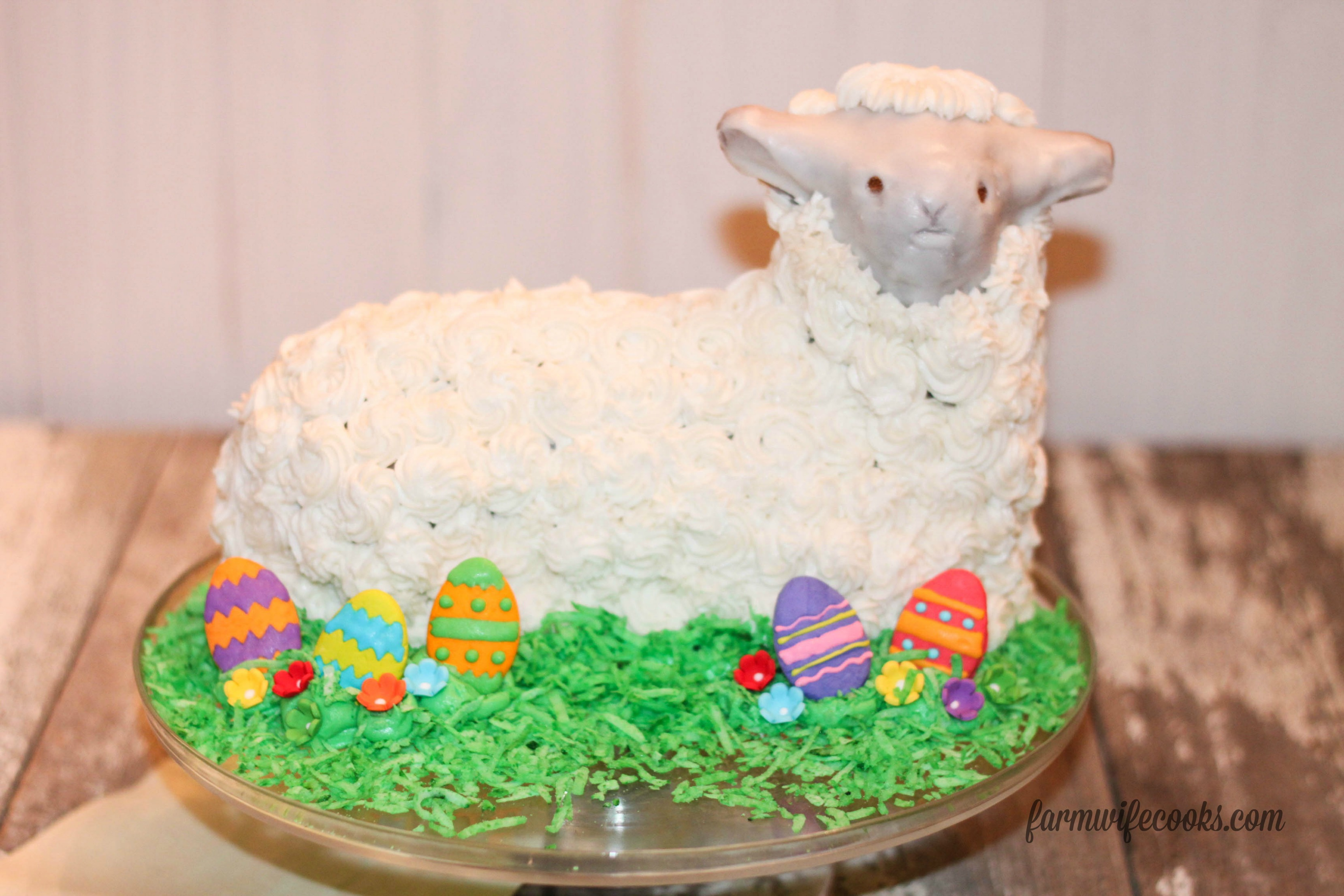 lamb cake mold 3 ways to decorate an easter cake the farmwife cooks 5389