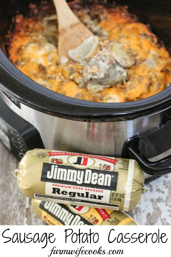 Are you looking for a great tried-and-true recipe that will have your whole family running to the dinner table? Look no further! This Crock Pot Sausage Potato Casserole will quickly become a family favorite.