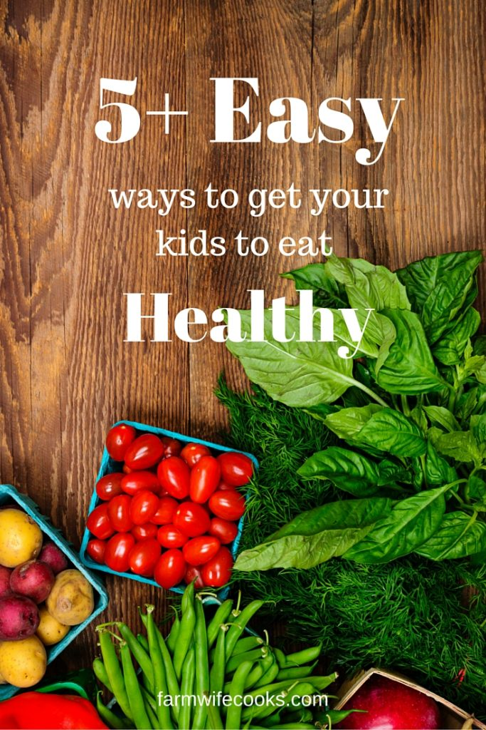 Great easy tips and tricks to get your kids to try new foods and eat their vegetables. Great ideas for picky eaters.