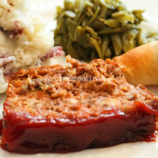 Are you looking for a tried and true Meatloaf recipe? This recipe comfort food at it's finest!