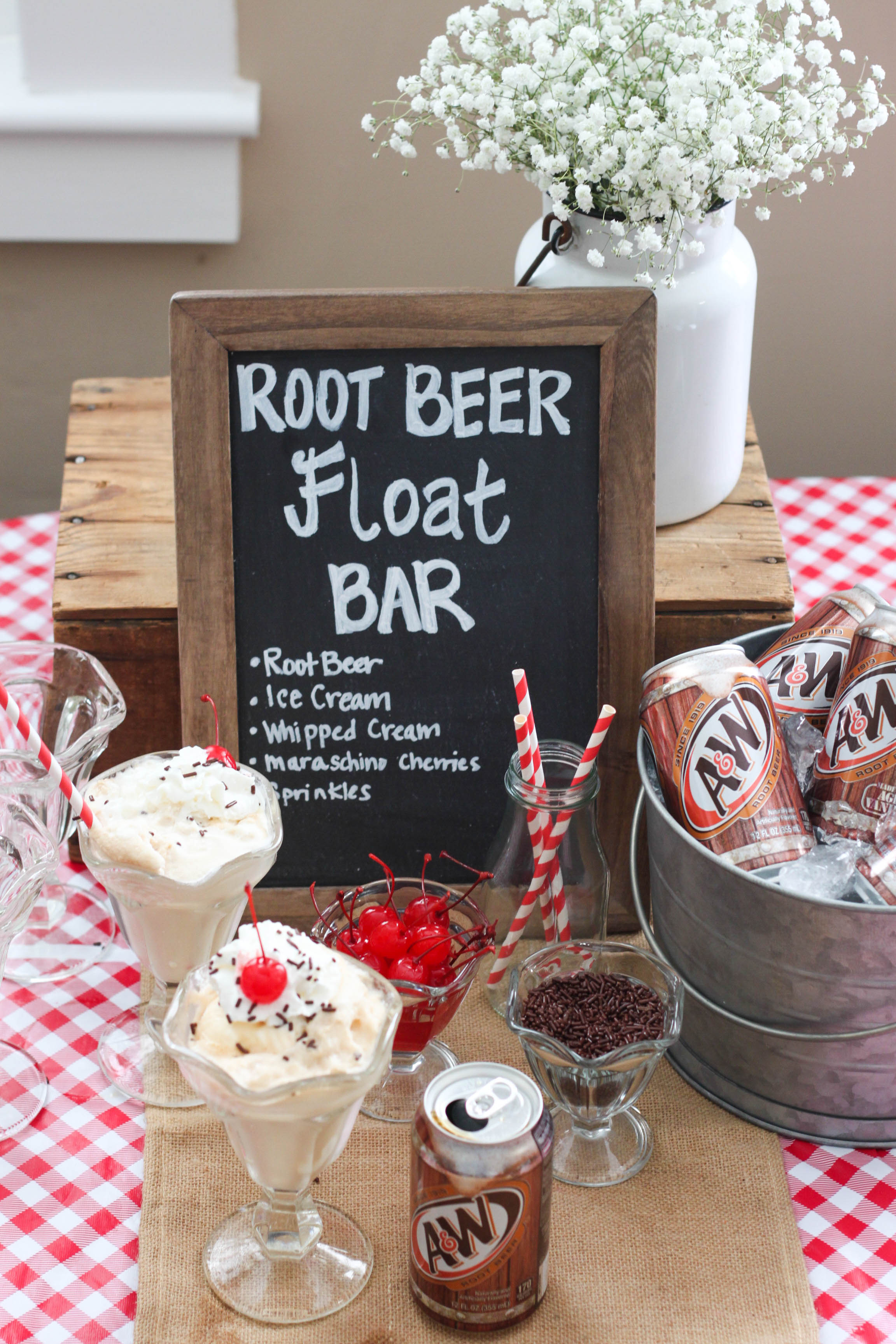 Root Beer Float Bar The Farmwife Cooks