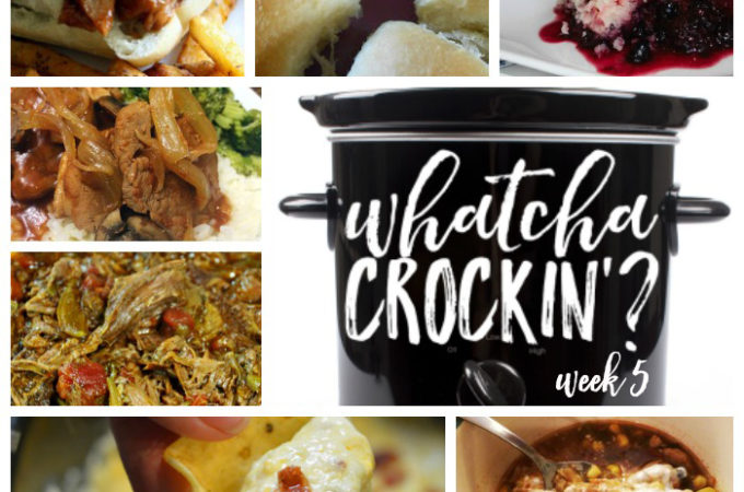 Crock Pot Recipes Week SQ