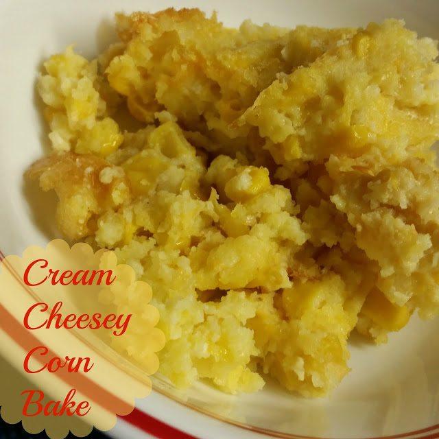 Crock Pot Cheesy Corn Bake
