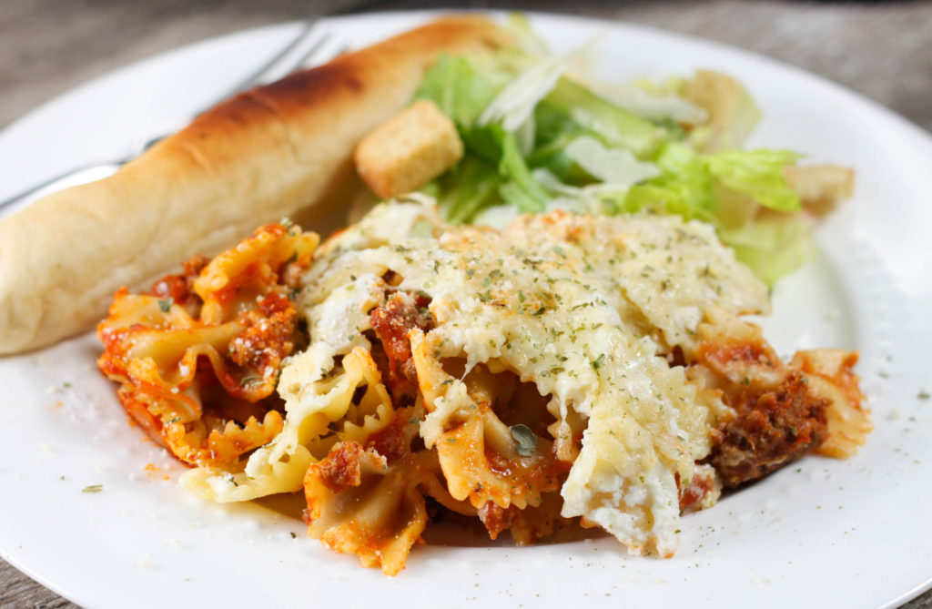 This Crock Pot Lasagna Casserole is an easier alternative to traditional lasagna with the same great taste the whole family loves!