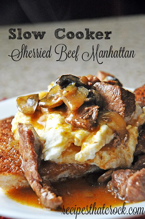 Slow Cooker Beef Manahattan