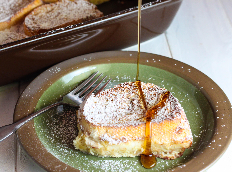 Overnight Vanilla French Toast The Farmwife Cooks
