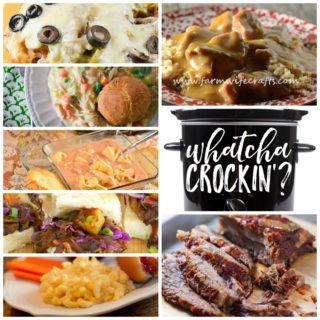 Slow Cooker Beef Stew and Rice – Whatcha Crockin Wednesday – Week 27