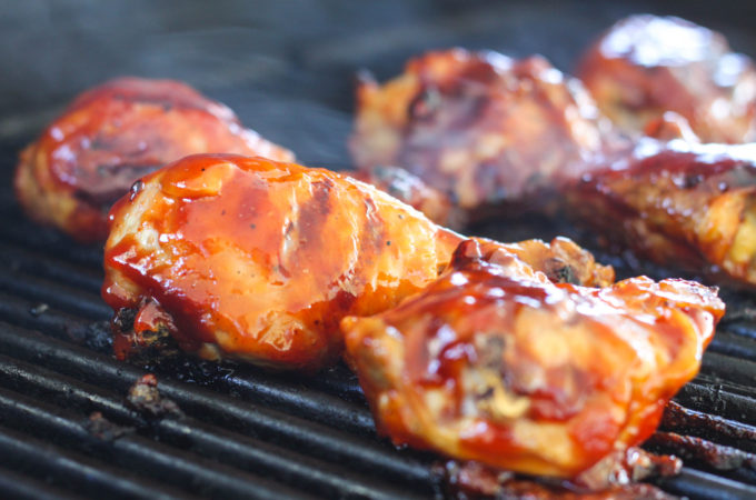 Are you looking for a fool proof way to make Grilled BBQ Chicken? This recipe includes a secret step that results in the juiciest grilled chicken you have ever had!