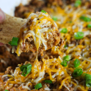 Crock Pot Spicy Enchilada Stack – WCW – Week 29