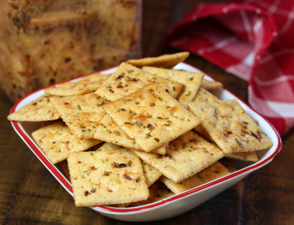Fiesta Ranch Crackers are the perfect, easy snack recipe. Great for camping, card night or while watching the game!