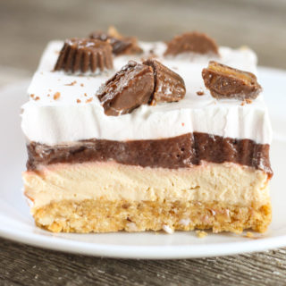 No Bake Chocolate Peanut Butter Delight