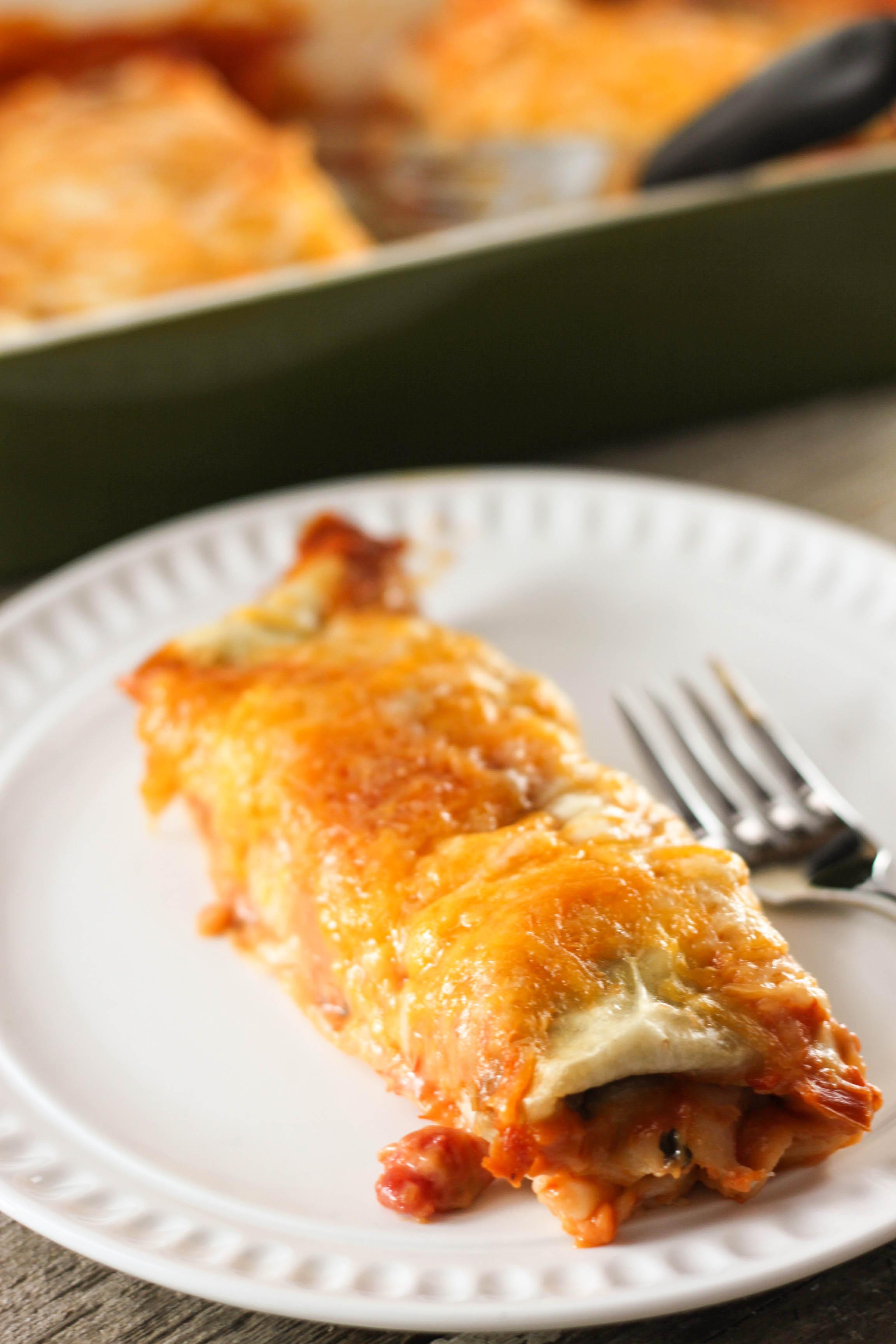 Burrito Style Beef Enchiladas The Farmwife Cooks