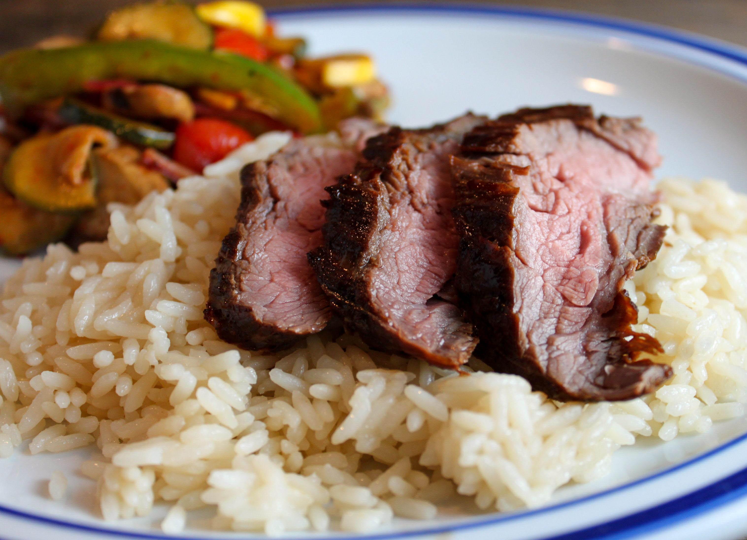 Asian Flank Steak - The Farmwife Cooks