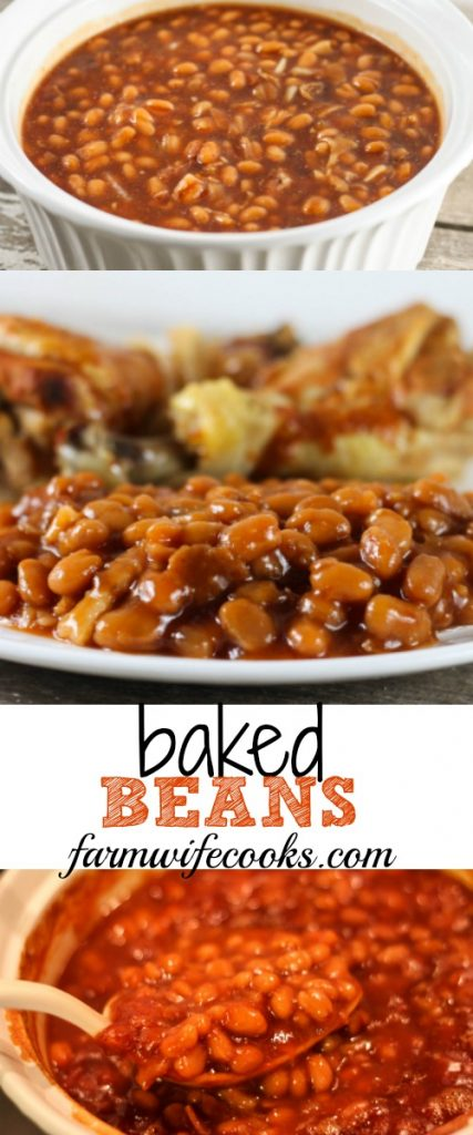 My favorite recipe for Baked Beans, the perfect side dish recipe for cookouts and family gatherings.