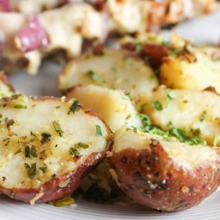 Parsley & Parmesan Potatoes