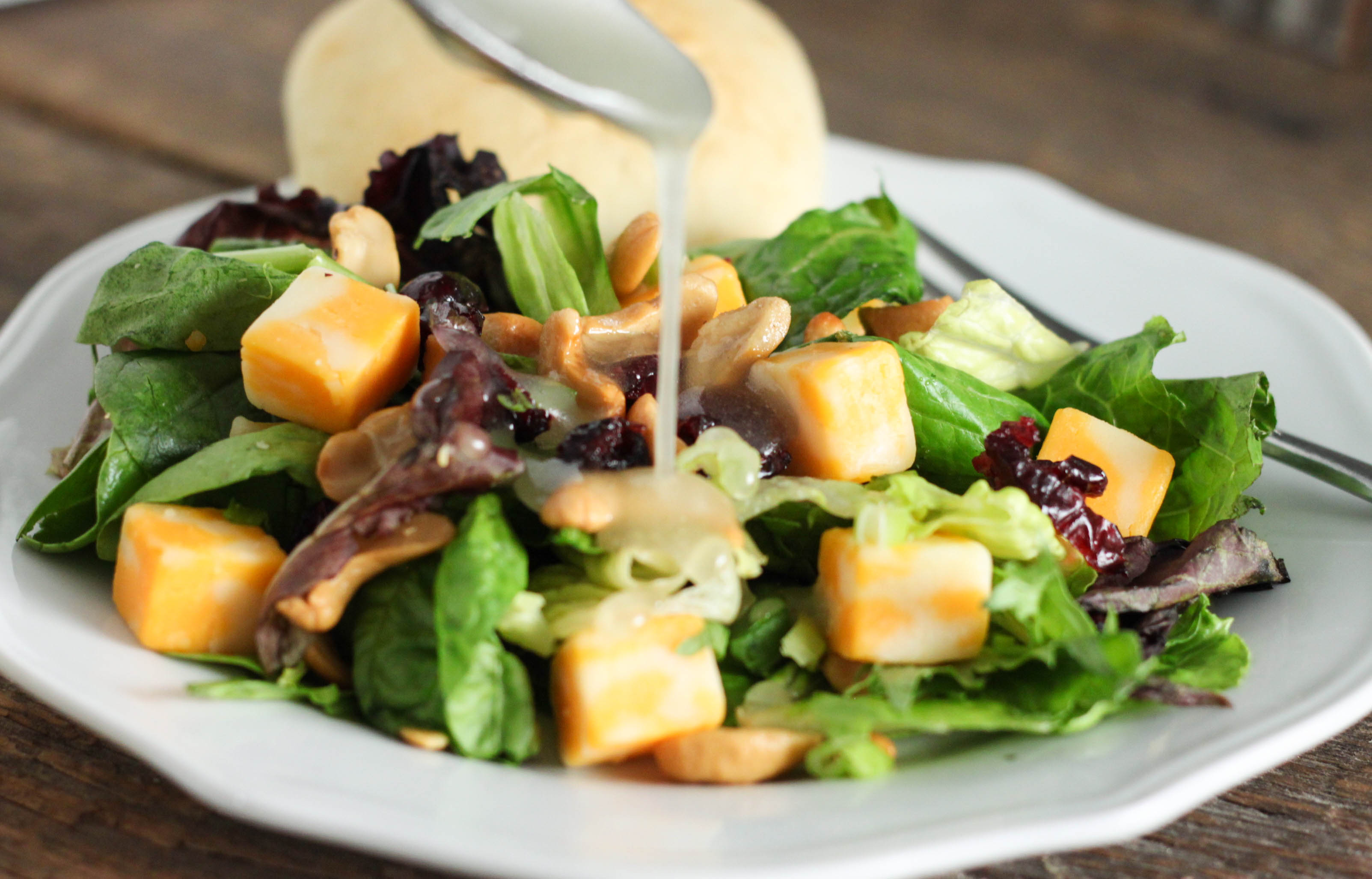 Cranberry Lettuce Salad - The Farmwife Cooks