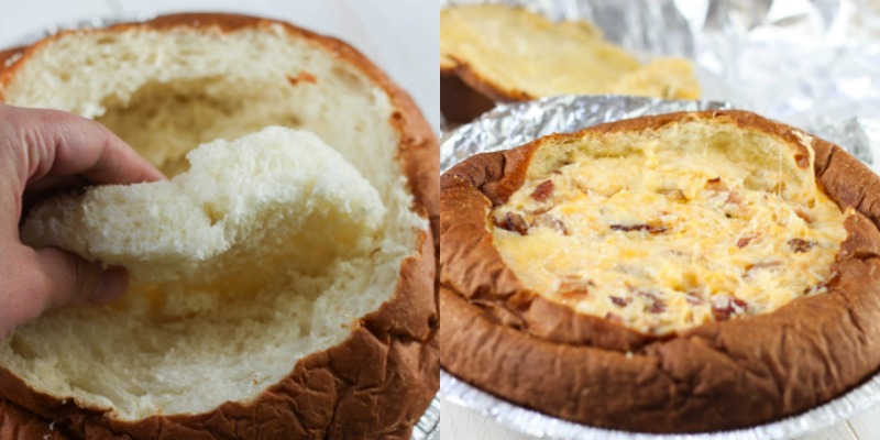 This Hawaiian Bread and Cheese Dip is the perfect appetizer for game day and makes a great addition to any party.