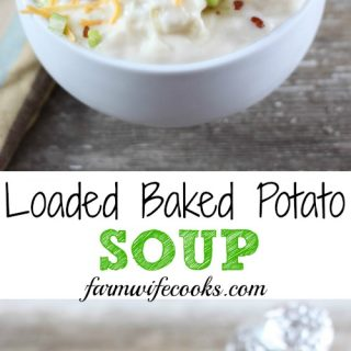 This Loaded Baked Potato Soup has all the flavors of your favorite side in soup form! It's a must make comfort food recipe!