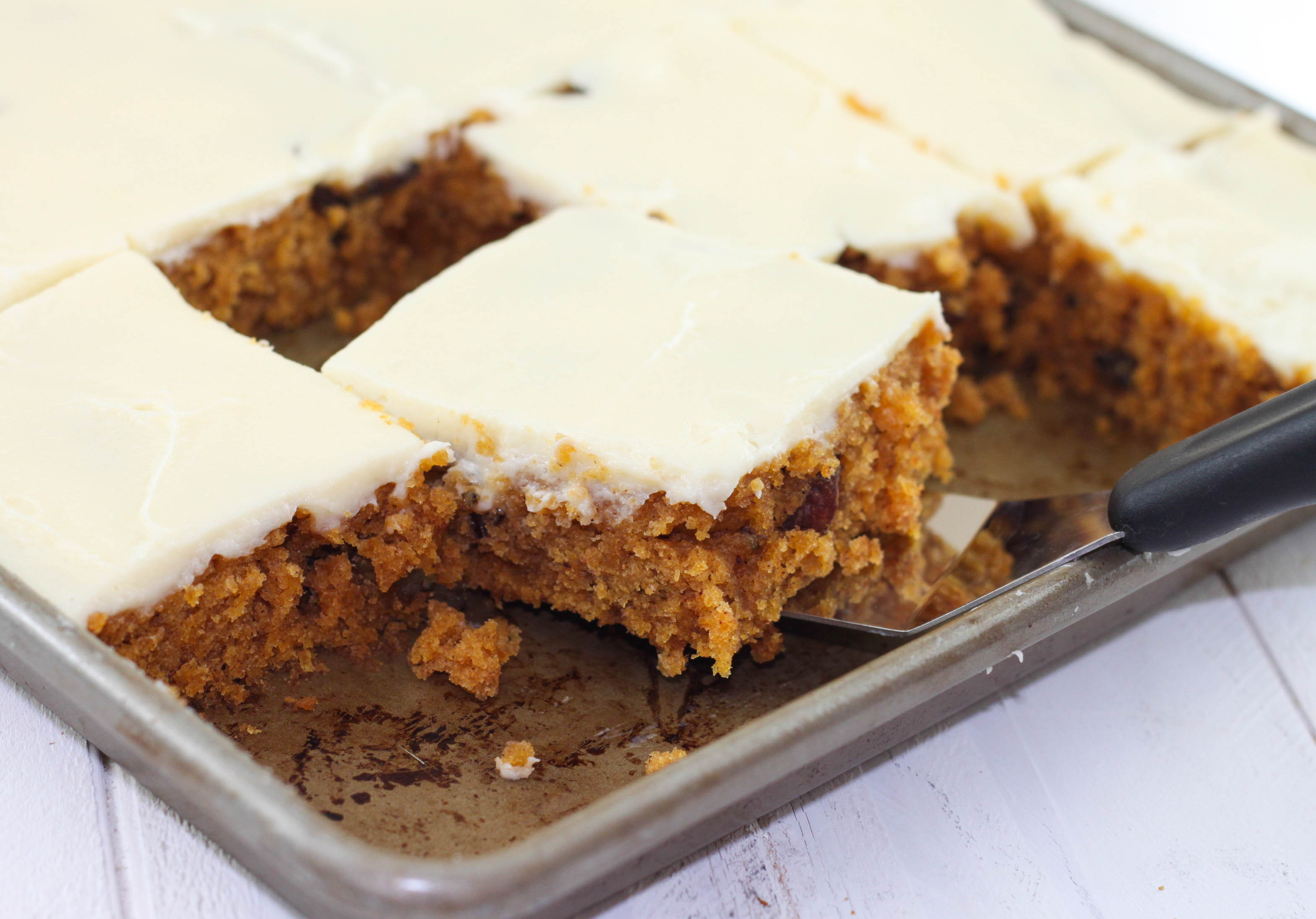 Pumpkin Texas Sheet Cake Recipe
