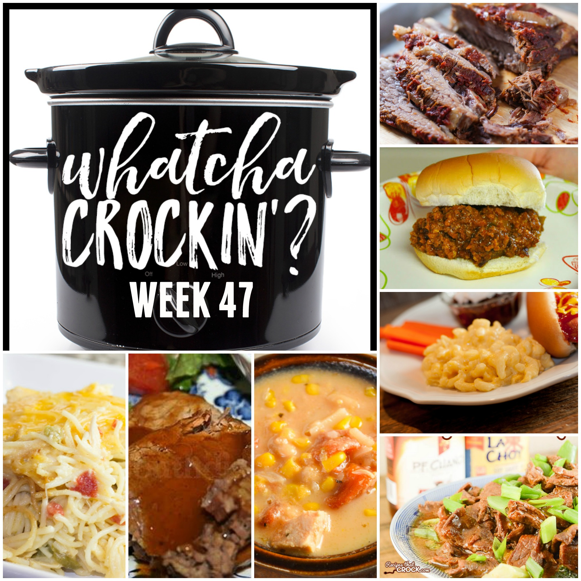 Crock Pot Spicy Cheesy Chicken Spaghetti - WCW Week 47 - Recipes That Crock!