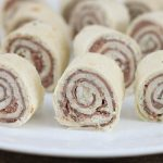 Roast Beef Roll Ups with Herb and Garlic Cream Cheese