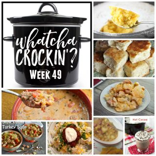 This week's Whatcha Crockin' crock pot recipes include Slow Cooker Baby Back Ribs, Warm Winter Lemon Cake, Low Carb Crock Pot Pizza Casserole, Crock Pot Cheesy Smoked Sausage and Potato Bake, Crock Pot Homemade Yeast Rolls, Sweet and Creamy Crock Pot Hot Cocoa, Crockpot Beans 'n' Kraut Stew, Slow Cooker Turkey Soup and many more!