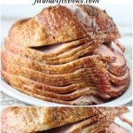 Are you looking for a simple ham recipe that can be made in the crock pot? This Slow Cooker Honey Dijon Ham is the perfect ham recipe for the holidays or family dinner.