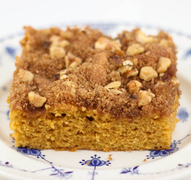 Are you looking for an easy coffee cake recipe? This Butterscotch Coffee Cake is so good and uses a cake mix making it quick to make!