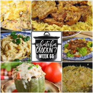 Slow Cooker Cheesy Chicken and Rice – WCW – Week 66