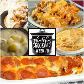 Crock Pot Peach Cobbler – WCW – Wk 70