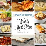 Meal Plan Week 4