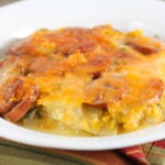 Cheesy Smoked Sausage Vegetable Casserole