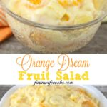This Orange Dream Fruit Salad is an easy fruit salad recipe made with orange juice and vanilla pudding mix that will have everyone coming back for seconds!
