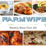 Meal Plan Week 9