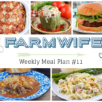 Meal Plan Week 11
